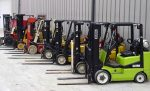 How to store a forklift